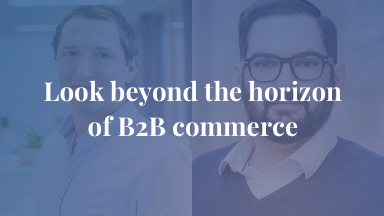 Look beyond the horizon of B2B commerce